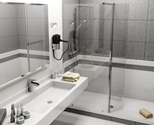 remplacement d'une baignoire par un bac a douche apres