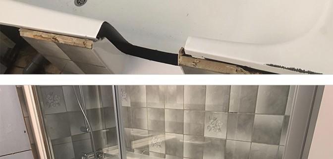 Transformation d une baignoire en douche fresnes - Transformer une baignoire en douche ...