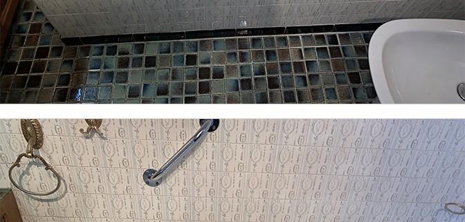 Ouverture De Baignoire Avec Pose D Un Portillon Anti Eclaboussures Renovbain Paris Idf